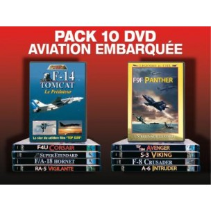 PACK 10 DVD AVIATION EMBARQUEE