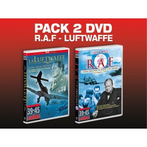 PACK 2 DVD RAF - LUFTWAFFE