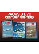 PACK 3 DVD CENTURY FIGHTERS