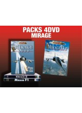 PACK 4 DVD MIRAGE