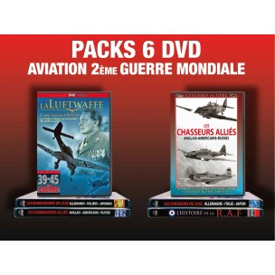 PACK 6 DVD AVIATION 2 EME GUERRE MONDIALE