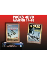 PACK 4 DVD AVIATION 14-18