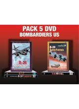 PACK 5 DVD BOMBARDIERS US 2EME GUERRE MONDIALE